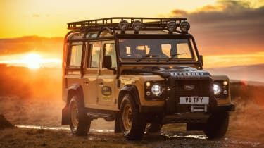 Land Rover Defender Works V8 Trophy - front static