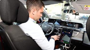 Citroen C4 Picasso Auto Drive autonomous car