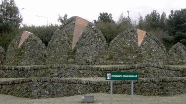 Newpark roundabout, Livingstone