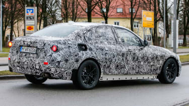 BMW 3-Series 2018 rear side
