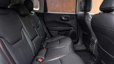 Jeep Compass Trailhawk - rear seats