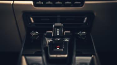 Porsche 911 Carrera S - gearstick