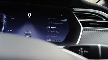 Tesla Model S - dials