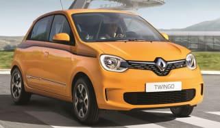 renault twingo facelift front quarter