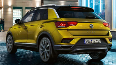Volkswagen T-Roc: technology when you work, rest and play (sponsored) - rear