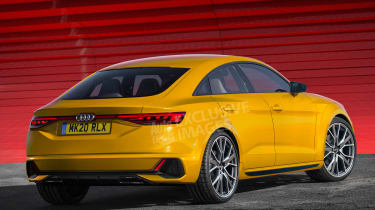 New Audi TT (watermarked) - rear