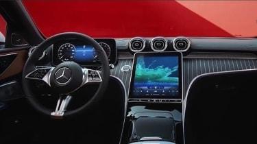 Mercedes C-Class 2021 - interior