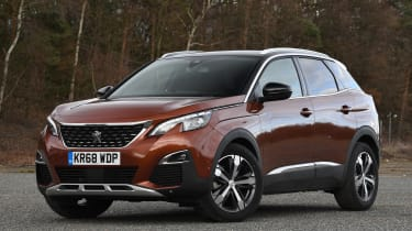 peugeot 3008 static front