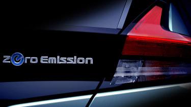 New Nissan Leaf teaser taillight