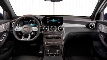 Mercedes-AMG GLC 43 2019 facelift cabin