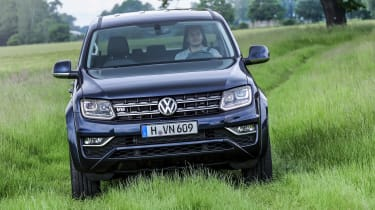 Volkswagen Amarok V6 - off-road 2 press