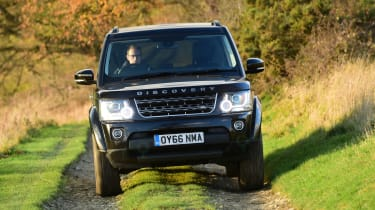 Land Rover Discovery Mk4 - full front