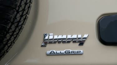 Suzuki Jimny - long term test - badge