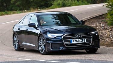Audi A6 - front cornering