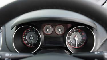 Used Fiat Grande Punto - dials