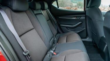 Mazda 3 - rear seats