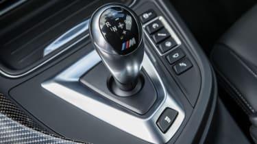BMW M4 gear lever