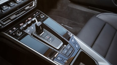 New Porsche 911 Cabriolet 2019 controls