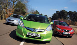 Honda Jazz hybrid group
