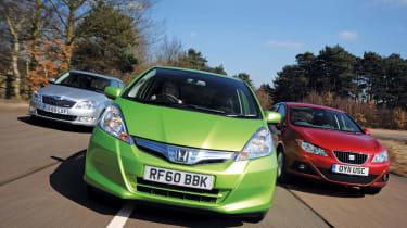 Honda Jazz hybrid group