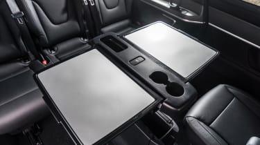 Mercedes V-Class - rear tables