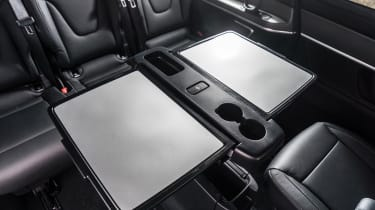Mercedes V-Class - rear tables