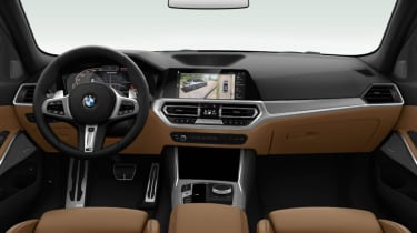 Leaked BMW 3 Series - interior