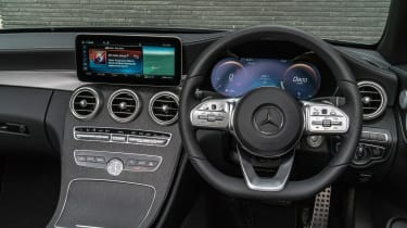 Mercedes C-Class Cabriolet - steering wheel
