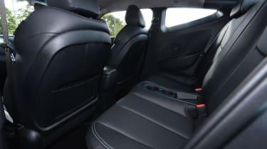 Hyundai Veloster Turbo rear seats