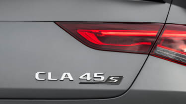Mercedes-AMG CLA 45 - badge