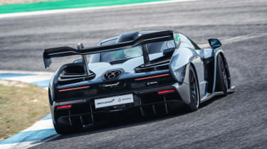 McLaren Senna - rear action