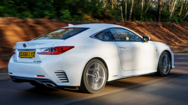 Lexus RC - rear
