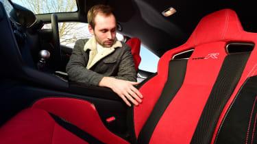 Honda Civic Type R long-term test review - seats
