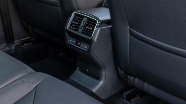 2021 facelifted Skoda Kodiaq SUV - rear heating