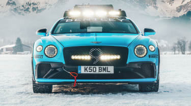 Bentley Continental GT ice racer - front static