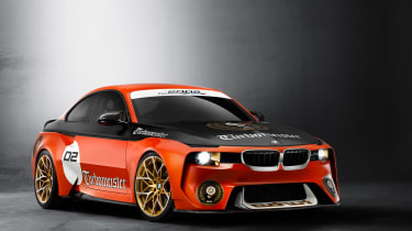 BMW 2002 Hommage Turbomeister - front quarter