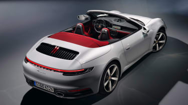 Porsche 911 Carerra Cabriolet - rear