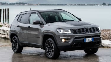 Jeep Compass Trailhawk - front static