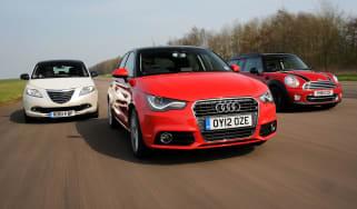 Audi A1 Sportback vs rivals