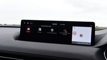 Genesis G80 - screen