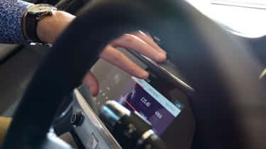 JLR tech secrets feature- touchscreen