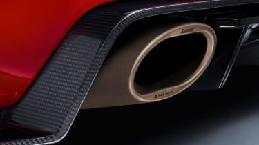 Audi TT RS and Audi R8 performance parts - Audi TT RS exhaust