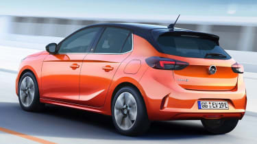Vauxhall Corsa - leaked rear tracking