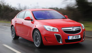 Vauxhall Insignia VXR SuperSport front tracking