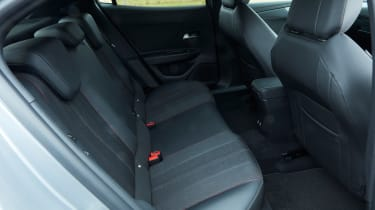 Vauxhall Mokka - rear seats