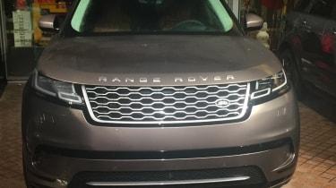 Range Rover Velar official reveal - full front