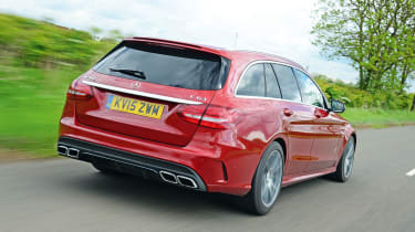Mercedes-AMG C 63 Estate - rear tracking