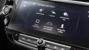 Vauxhall Corsa - infotainment