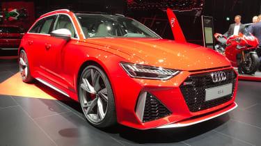 Audi RS Avant - Frankfurt front