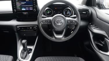 Toyota Yaris - dash